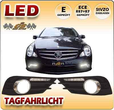 Mercedes Benz R  Klasse 251 AMG LED Tagfahrlicht SET im Gitter 2005-2010 NEU