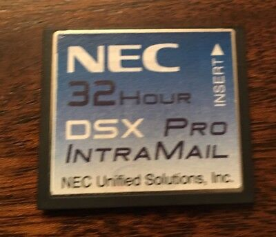 Nec Dsx 4080160 1091053 32 Hour Intramail V1.4 G 8 Port Pro Voice Mail Card