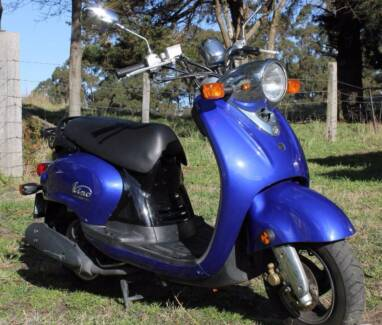 Yamaha Vino 125cc low Kms Geeveston Huon Valley Preview
