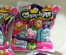 Shopkins series 5 blind bags x 20 packs new and sealed