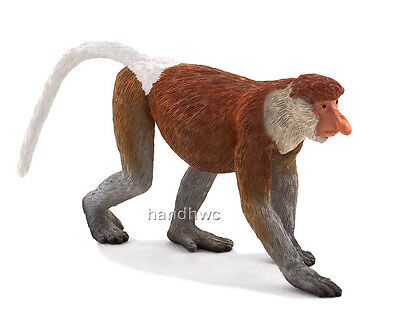 NIP Mojo Fun 387177 Ringtail Lemur Model Toy Animal Replica