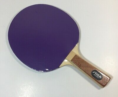 Vintage Stiga Ping Pong Paddle Purple Blue/Green Sealed Play The Best (The Best Ping Pong Paddles)