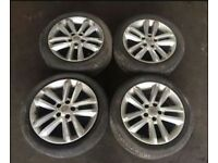 Vauxhall vectra c alloy wheels 17in x4