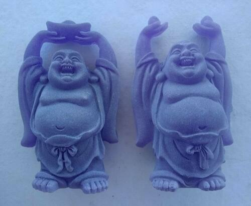 2 pc Small laughing buddha statue symbol of lucky, money, longevity and happy