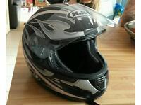 HJC motorbike helmet small