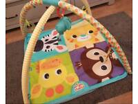 Bright starts baby play mat and ball pit