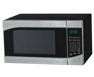 Avanti 0.9 Cu. Ft. 900 Watts Countertop Microwave - Stainless Steel/Black