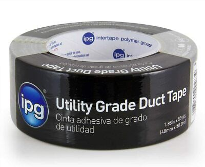 Ipg 6560 Utility Grade Duct Tape 1.88 X 55 Yd Silver Single Roll