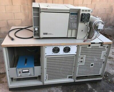 Hp 5988a Gcms System 5890 Series 2 Gas Chromatograph