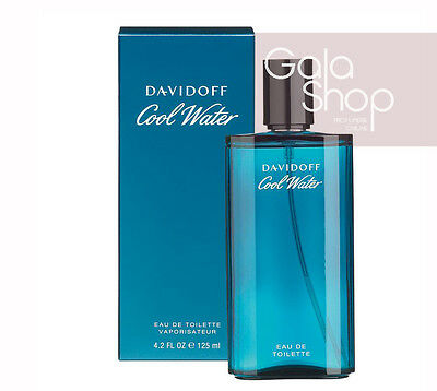 DAVIDOFF COOL WATER EAU DE TOILETTE 125ML PROFUMO UOMO EDT NATURAL SPRAY