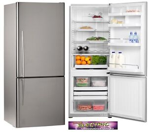 Fisher and Paykel upside fridge brushed silver 519 litre 4 y old Botany Botany Bay Area Preview