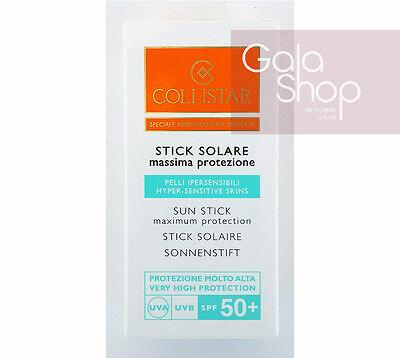 COLLISTAR STICK SOLARE 50+ SPF MASSIMA PROTEZIONE NASO LABBRA OCCHI 8ML