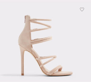 ALDO 6.5 NEW Pink Blush Sandal Heel 50%OFF