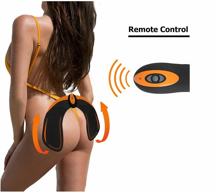 Hips Trainer Muscle Stimulator EMS Wireless Remote USB Butt