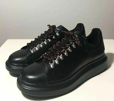 Brand-new Men's Alexander McQueen Black Larry Hybrid Hiking Sneakers in US 11
