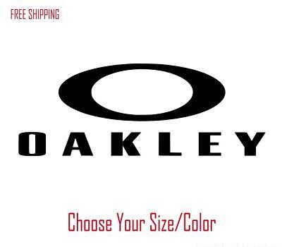 OAKLEY Vinyl Decal Logo for Car Truck SUV Window Jeep Sticker 4X4 Sunglass (Sunglass Decals)