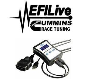 EFI Live Tuner 07-09 Dodge Ram 6.7L for Cummins DPF EGR Delete Shift on the Fly