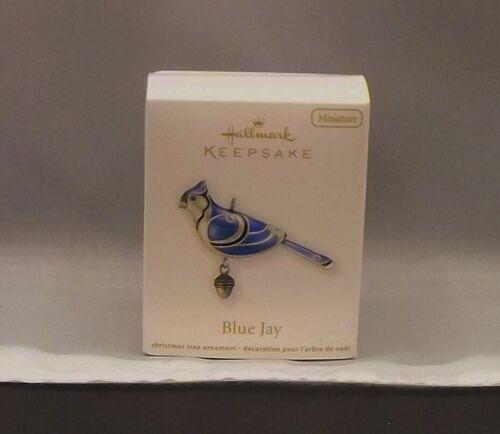 Hallmark 2012 The Beauty of Birds Blue Jay Miniature Keepsake Ornament