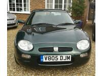 MGF 1.8 CONVERTIBLE 1999 V. 6 MONTHS MOT EXCELLENT ENGINE LOVELY CONDITION