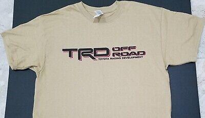 NEW TRD OFF-ROAD *T-SHIRT* 4x4 truck toyota tundra jdm tacoma nos turbo j-spec