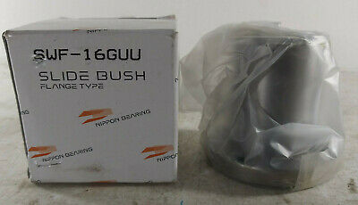1 New Nippon Swf-16guu Flange Slide Bushing Nib Make Offer