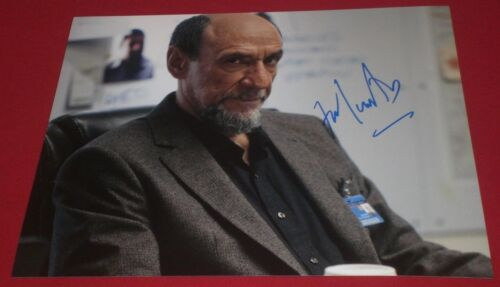 F MURRAY ABRAHAM SIGNED HOMELAND DAR ADAL STILL 8X10 PHOTO AUTOGRAPH COA AMADEUS