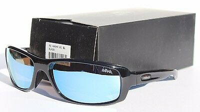 REVO Converge Sunglasses POLARIZED Black/Blue Water NEW RE4064X-01 Sport