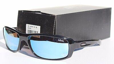 REVO Converge Sunglasses POLARIZED Black/Blue Water NEW RE4064X-01 Sport