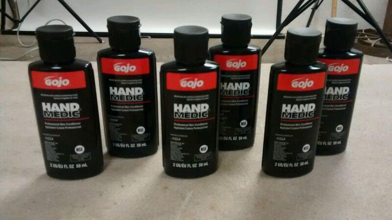 Lot Of 6 GoJo Hand Medic Professional Conditioner lotion stocking stuffers
