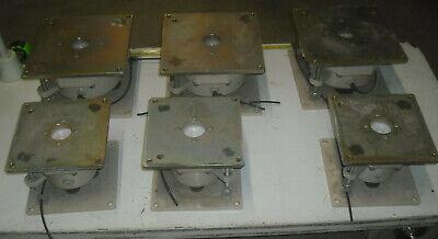 Lot Of 6 Pneumatic Table Levelingvibration Isolators Legs Laseroptical Table