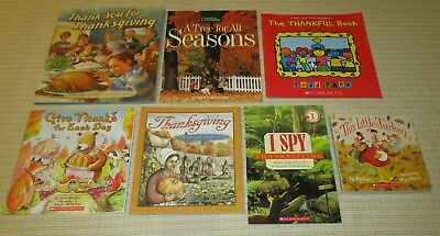 Fall Thanksgiving Theme Book Lot Teachers Early Childhood PreK-2nd  BRAND NEW  - Thanksgiving Theme