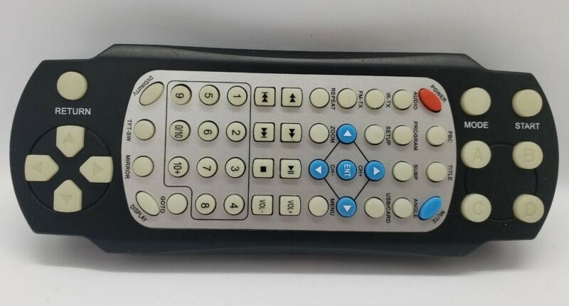 UNBRANDED RMT01 Car Headrest Monitor DVD Player Game Remote Controller Pre-Owned