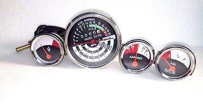 John Deere Tractor Tachometer Temperature Fuel Amp Gauge Set 1010 2010
