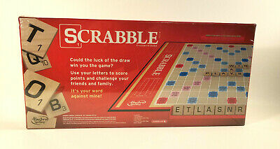 Scrabble Crossword Game by Hasbro 2013 - New in Original Sealed Packaging