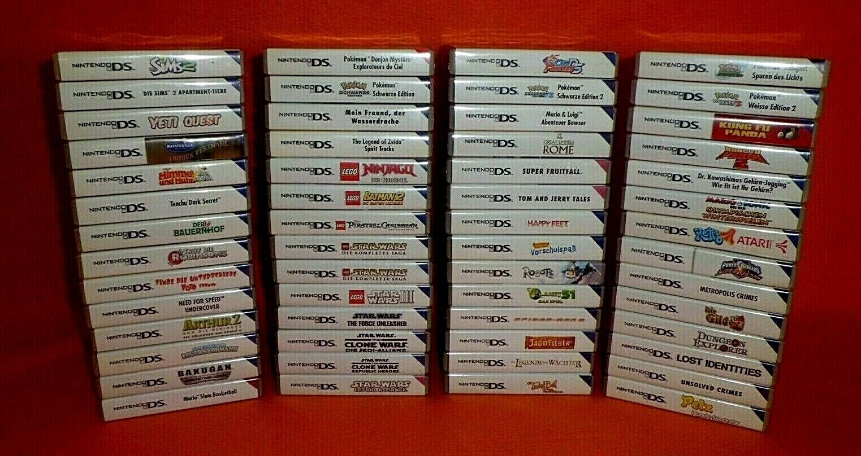 Schöne Spiele für Nintendo 2DS / 3DS - Viele für Kinder und Familie