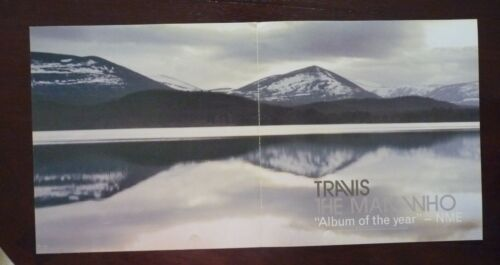 Travis The Man Who LP Record Photo Flat 12X24 Poster