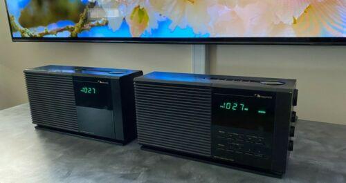 Nakamichi TM-1 & TM-2 AM/FM Stereo Clock Radio/Alarm & Companion Set - TESTED