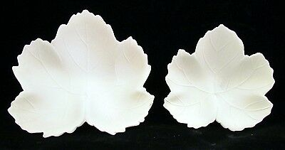 Autumn-Fall-Thanksgiving Leaf Dishes - Ready to Paint Ceramic Bisque