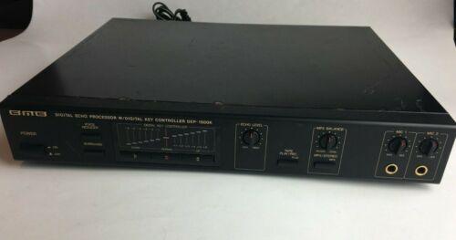 BMB Dep 1500K Digital Echo Processor Key Karaoke Mixing Control Amplifier Tested