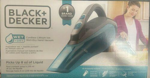 BLACK+DECKER Cordless Wet/Dry Hand Vacuum HLWVA325J21
