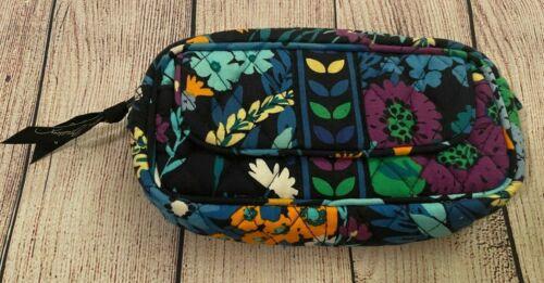 Vera Bradley Mirror Cosmetic Bag in Midnight Blues - Make-up Bag - Purple,Floral