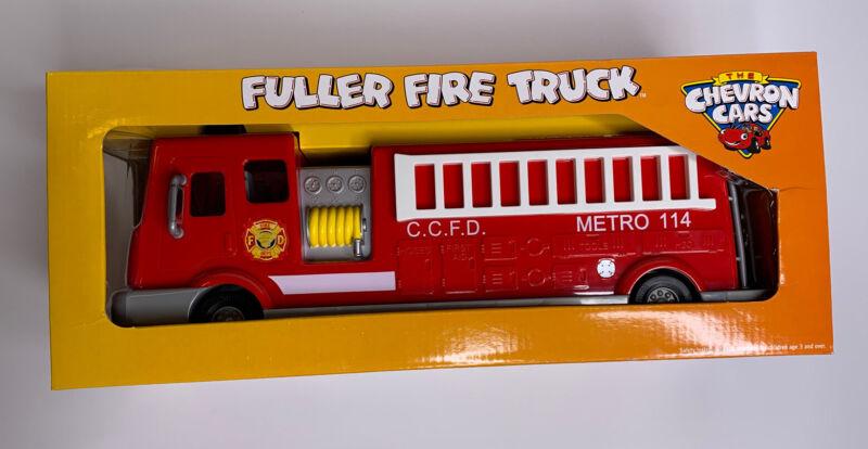 Chevron Cars Fuller Fire Truck Original Box Collectible Toy Fireman New