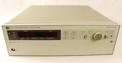 Hp Hewlett-packard 6034a System Power Supply 0-60v0 - 10a200w Hs