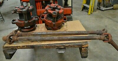 1 Ridgid Model 141 2-12 - 4 Receding Geared Pipe Threader 1 Rigid Pto Bar