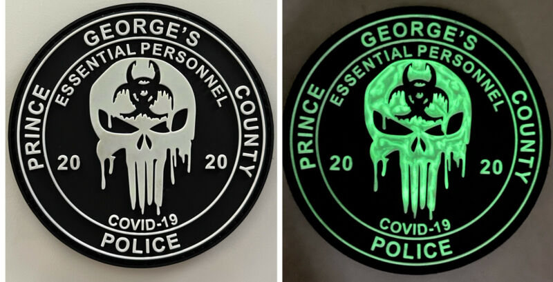 Prince George's County Maryland Police Essential Personnel Patch MD