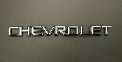 Chevrolet Chevy Blazer Silverado Tahoe Suburban Trailblazer + More Emblem Script