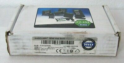 Hid Rp40cgnn Multiclass Card Reader 6125cgn0000l Missing Mount Plate Ctno