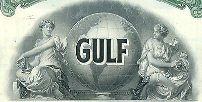 1968 Transocean Gulf Oil Company $1000 Bond Stock Certificate