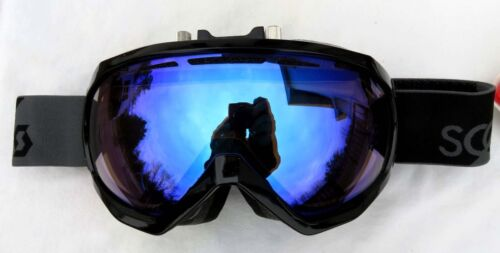 NEW $160 Scott Mens Notice OTG Over The Glasses Electric Fan Black Ski Goggles