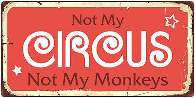 Carnival Novelties (982HS Not My Circus Not My Monkeys 5